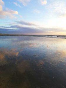 Das Wattenmeer vor Tossens
